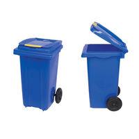 купить Бак мусорный 240 л - на колесах (синий)  UNI в Кишинёве