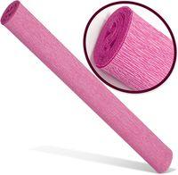 INTERDRUK Бумага креповая INTERDRUK Premium 200x50см розовая