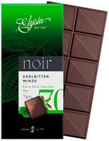 Ciocolată neagră cu mintă Elysia 70% 1895 100g