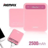 Remax Pino Power Bank, 2500mAh, Pink