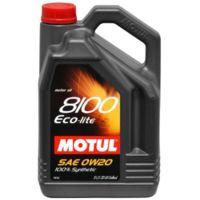 Масло моторное Motul, 0W20 8100 ECO-LITE 5L