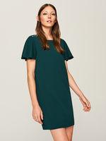 Платье RESERVED Темно зеленый
