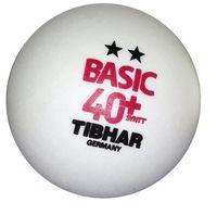 Мяч для настольного тенниса Tibhar Basic 2** 40+ SYNTT (880)