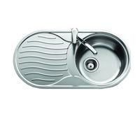 купить Мойка кухонная нержавеющая 0,8мм (decor) 44/79 см прав 4479 R в Кишинёве