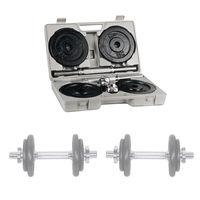 Набор гантелей 2x10 кг inSPORTline 565 (5568)