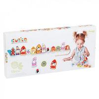 Cubika Деревянная игрушка шнуровка Гномы