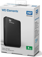 Western Digital Elements Portable Slim 1TB