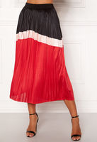 Юбка CO'COUTURE Красный/Черный camden plisse