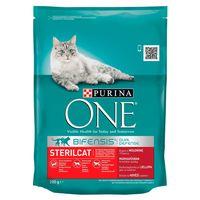 Purina One Steril Cat (с говядиной и пшеницей) 200g