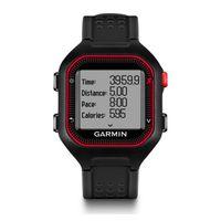 GARMIN Forerunner 25 Bundles - Large - Black & Red, 128x128, GPS