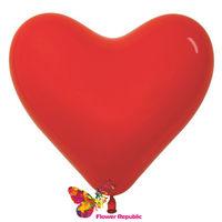 cumpără Balon cu aer Inimioara- culoarea Rosu - 25 см în Chișinău