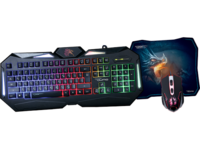 Gaming Keyboard & Mouse & Mouse Pad Qumo Spirit of Wisdom