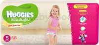 Huggies Ultra Comfort Mega Girl 5 (12-22 кг.) 56 шт.