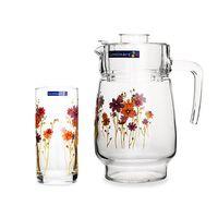 Комплект для напитков LUMINARC COUNTRY FLOWER G1959