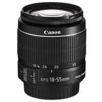 CANON EF-S 18-55mm f3.5-5.6 IS, чёрный