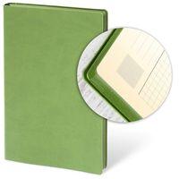 AKKLAS Ежедневник недатир. SOFT 13x21 см, 96 л, зеленый