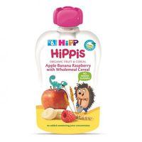 Hipp Фруктовый сюрприз из яблок, бананов и малины со злаками, 6+ мес, 100 г
