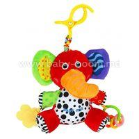 Baby Mix EF-TE-8378E-20Е Плюшевая игрушка с вибрацией Слоник