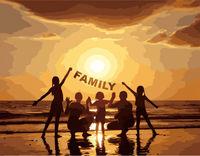 Pictura pe numere 40x50 FAMILY VA2658