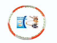 Cerc masaj / Hula hoop d=87 cm, plastic 155-1294 (3862)
