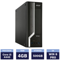 Настольный компьютер Acer Veriton X2631G (134939) ( i5-4440 | 4 GB | 500GB | Win8 Pro | SFF )