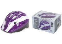 Шлем защитный фиолет, (S, M, L)