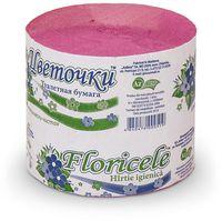 FLORICELE Бумага гигиеническая ФЛОРИЧЕЛЕ/35 м розовая