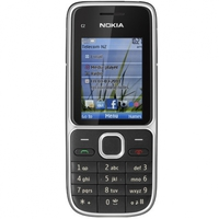 Mobile Phone Nokia C2-01, Black, 850/900/1800/1900/2100 MHz, 2.0