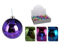 cumpără Glob din sticla cu iluminare LED, schimba culoarea,80mm în Chișinău