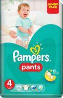 Трусики мальчик/девочка Pampers Pants 4 (9-14 кг.) 52 шт.