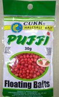 Aluat pufat Cukk Puffi Mini 30g (4-6mm) Roșu / Căpșuni