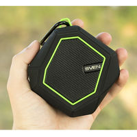Bluetooth Portable Speaker SVEN PS-77BL 5W, Black/Green