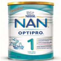 Nestle Nan 1 молочная смесь, 0+ мес. 800г