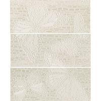 Keros Ceramica Декор Mariposa Ivory 25x70см 3шт