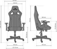 Офисное кресло Новый стиль Hexter PRO R4D Tilt MB70 Eco/03 Black/Green