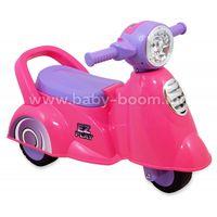 Baby Mix  UR-HZ605 Скутер-толокар муз/свет розовый