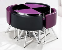 Grace Furniture B-11 Black/Lilac