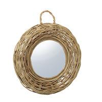 купить Зеркало, 540x70x450 мм, ротанг в Кишинёве