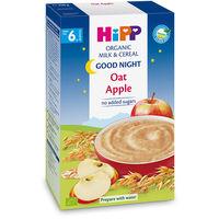 Молочная органическая каша Hipp овсяная с яблоками