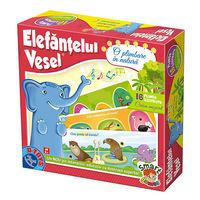 Настольная игра Elefantul vesel - o plimbare in natura, код 41197