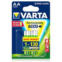 купить Аккумулятор Varta Mignon Accu 2100 mAh AA (2шт) в Кишинёве