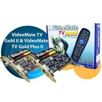 Tuner COMPRO VideoMate Gold II M355 Analog TV/Capture card, Philips 7134/7135, w/PowerUp, Stereo, MPEG-1/2/4, TimeShift, PCI, w/Remote Control