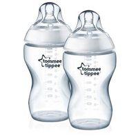 Tommee Tippee бутылочка пластиковая, 3+мес. 340 мл. 2шт