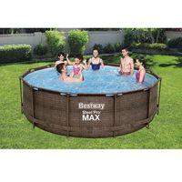 Бассейн Steel Pro Max ROTANG 366x100cm, 9150Л метал каркас.