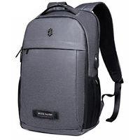 Рюкзак Artic Hunter B00251, для ноутбука 15.6'', с портом USB, водонепроницаемый, черный