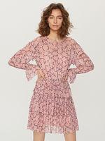 Платье RESERVED Розовый с принтом tf487