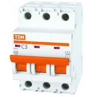 ВА47-29 3Р  63А 4,5кА C автоматический выключатель TDM