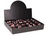 купить Набор шаров 10X25mm, 5матов, 5глянц, бордо, светло-розов, в  в Кишинёве