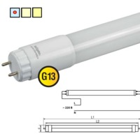 (U) LED (9w) NLL-G-T8-9-230-6.5K-G13 (analog 18wt 600mm)