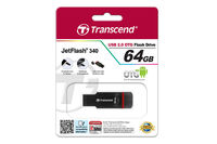 Micro-USB Flash Drive Transcend JetFlash 340 64Gb